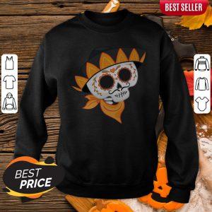 Sugar Skull Cowboys Day Of The Dead Sweatshirt
