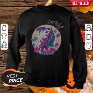 Hot Day Of Dead Horse Sugar Color Sweatshirt