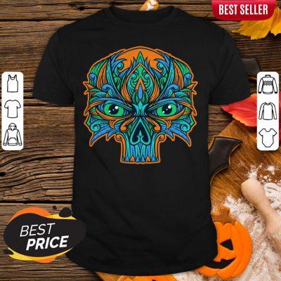 Sugar Skull Eyes Dia De Muertos Day Dead Shirt