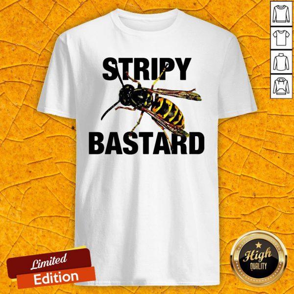 Premium Bee Stripy Bastard Shirt