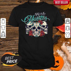 Dia De Los Muertos Sugar Skull Rose Shirt