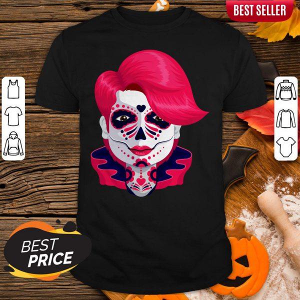 Sugar Skull Boy Dia De Muertos Day Of Dead Shirt