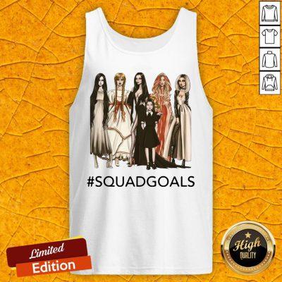 Squad Goals Samara Annabelle Morticia Halloween Tank Top