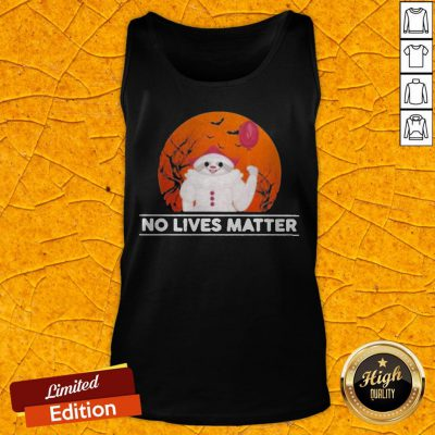 Funny Sloth Pennywise No Lives Matter Halloween Tank Top