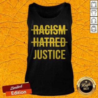 Premium Racism Hatred Justice Tank Top