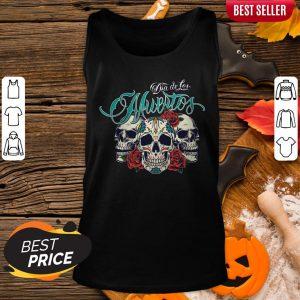 Dia De Los Muertos Sugar Skull Rose Tank Top