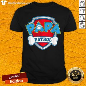 Good Mens Papa Patrol Dog Mom Shirt- Design By Thefirsttees.com