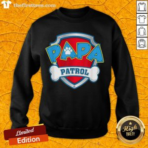 Good Mens Papa Patrol Dog Mom Sweatshirt- Design By Thefirsttees.com