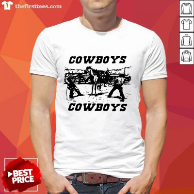 Hot Brandy Melville Cowboys Official T-Shirt- Design By Thefirsttees.com