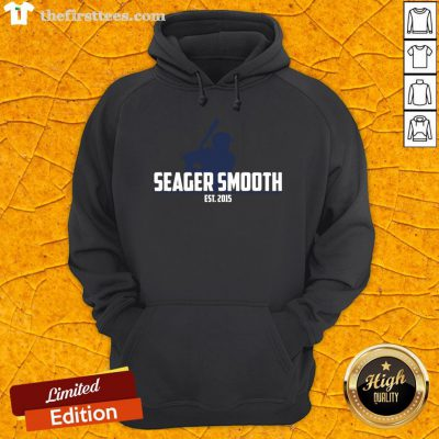 Perfect Seager Smooth L.A. Baseball Hoodie- Design By Thefirsttees.com