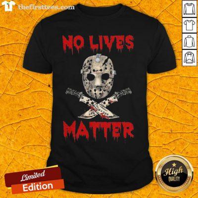 Grateful Jason Voorhees No Lives Matter Halloween Shirt - Design By Thefirsttees.com