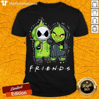 Baby Jack Skeleton And Baby Green Friends Light Christmas Shirt - Design By Thefirsttees.com