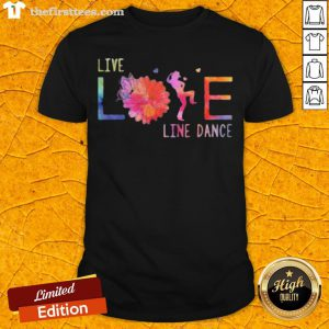 Colorful Live Life Line Dance 2020 Shirt - Design By Thefirsttees.com
