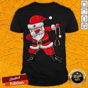 Cute Dabbing Santa Nurse Christmas Unisex Shirt