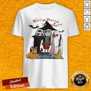 Funny Horrus Porrus And Peppina Halloween Shirt