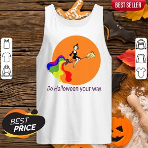 For LGBT Do Halloween Your Way Tank Top