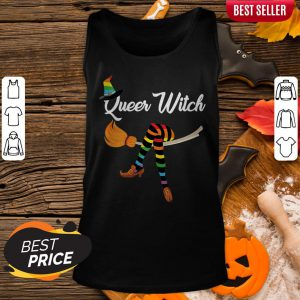 Happy Halloween Day LGBT Queer Witch Tank Top