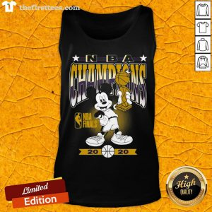 Lakers 2020 NBA Champions Mickey Mouse Tank Top - Design By Thefirsttees.com
