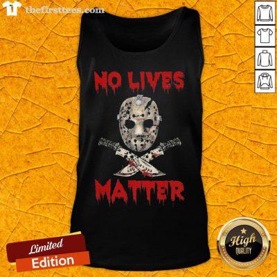 Grateful Jason Voorhees No Lives Matter Halloween Tank Top - Design By Thefirsttees.com