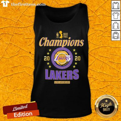 2020 Los Angeles Lakers National Basketball Association Champions Tank Top - Design By Thefirsttees.com