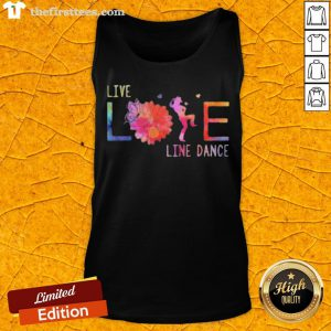 Colorful Live Life Line Dance 2020 Tank Top - Design By Thefirsttees.com