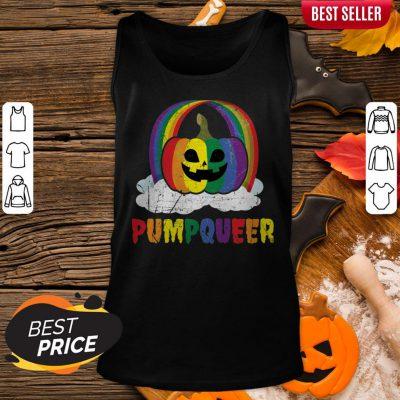 LGBT Gay Rainbow Halloween Funny Apparel Tank Top