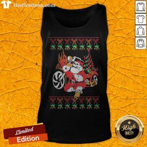 Premium Santa Bad Drink Christmas Tank Top