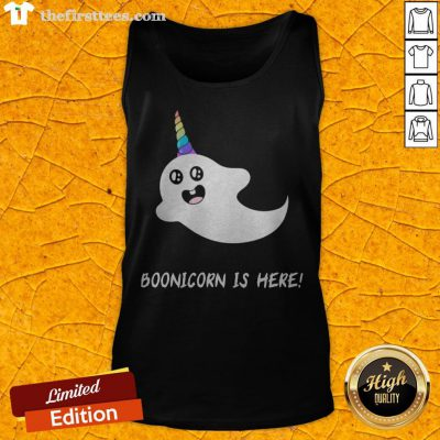 Funny Boonicorn Is Here Halloween Tank Top