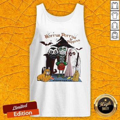 Funny Horrus Porrus And Peppina Halloween Tank Top