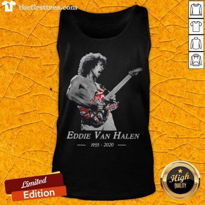 Premium Rip Eddie Van Halen 1955 2020 Tank Top - Design By Thefirsttees.com