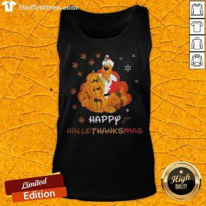 Scooby Doo Happy Hallothanksmas Christmas Halloween Tank Top - Design By Thefirsttees.com