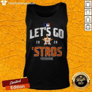 Grateful Let's Go Houston Astros 2020 Postseason Tank Top - Design By Thefirsttees.com