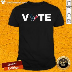 Top Houston Texans Vote Tee Shirt-Design By Wardtee.com