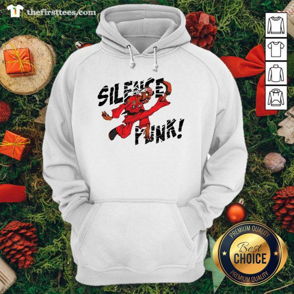 Nice Silence Punk Hoodie - Design By Thefirsttees.com