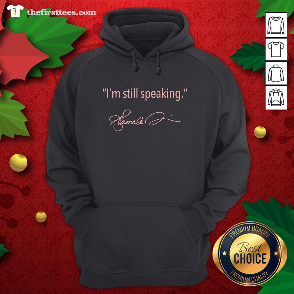 Pretty I'm Still Speaking Kamala Classic Hoodie - Design By Thefirsttees.com