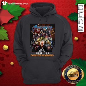 Pretty Avenger Stan Lee 12-11 Thanks For The Memories ShirtPretty Avenger Stan Lee 12-11 Thanks For The Memories Hoodie - Design By Thefirsttees.com