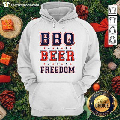 Premium BBQ Beer Freedom Hoodie - Design By Thefirsttee.com