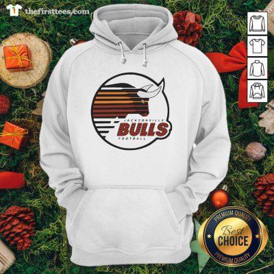 Jacksonville Bulls Football Hoodie - Design by Thefristtee.com
