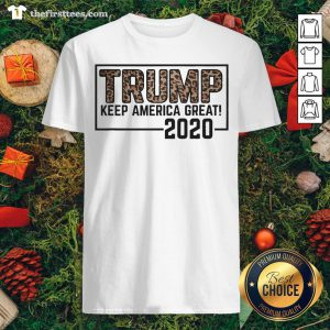 Original Trump 2020 Keep America Great Election Leopard Shirt - Design By Thefirsttees.com