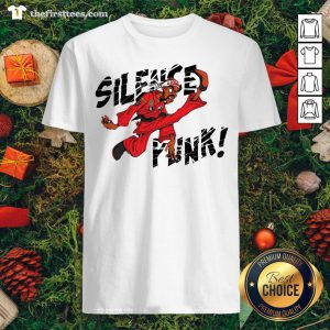 Nice Silence Punk Shirt - Design By Thefirsttees.com