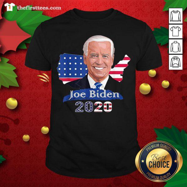 Grateful American Flag Joe Biden President 2020 Shirt - Design By Thefirsttees.com