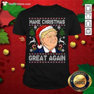 Cute 2020 Trump Make Christmas Great Again Shirt - Design By Thefirsttees.com