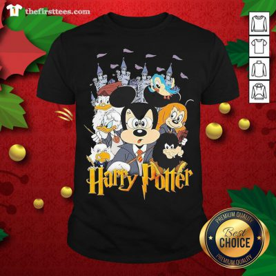 Nice Mickey Mouse And Friends Harry Potter Halloween Shirt - Design By Thefirsttees.com
