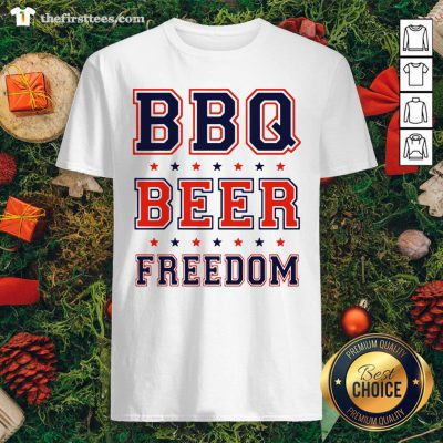 Premium BBQ Beer Freedom Shirt - Design By Thefirsttee.com