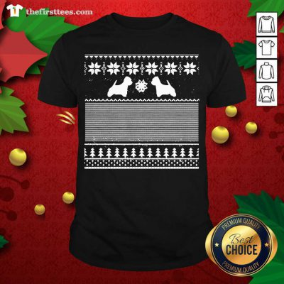 Westie Green Christmas Shirt - Design by Thefristtee.com