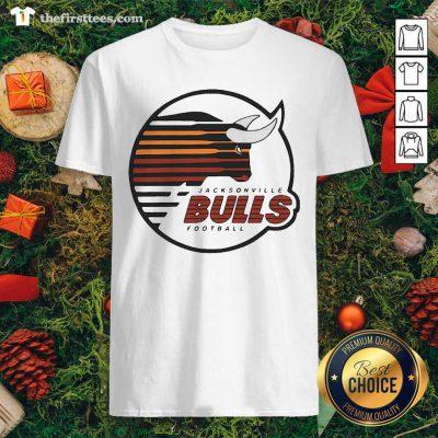Jacksonville Bulls Football Shirt - Design by Thefristtee.com
