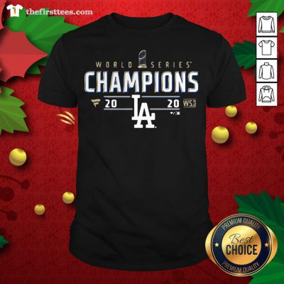 Top World Series Dodgers Championship La 2020 Shirt - Design By Thefirsttees.com