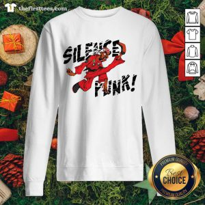 Nice Silence Punk Sweatshirt - Design By Thefirsttees.com