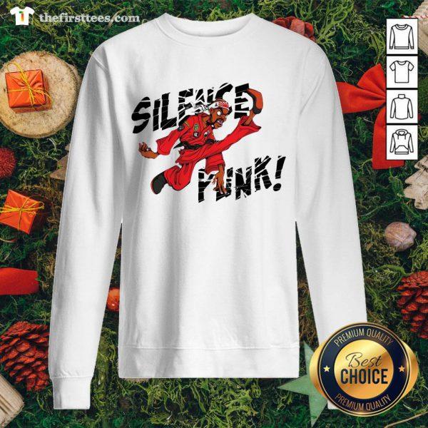 Nice Silence Punk Sweatshirt - Design By Thefirsttees.com