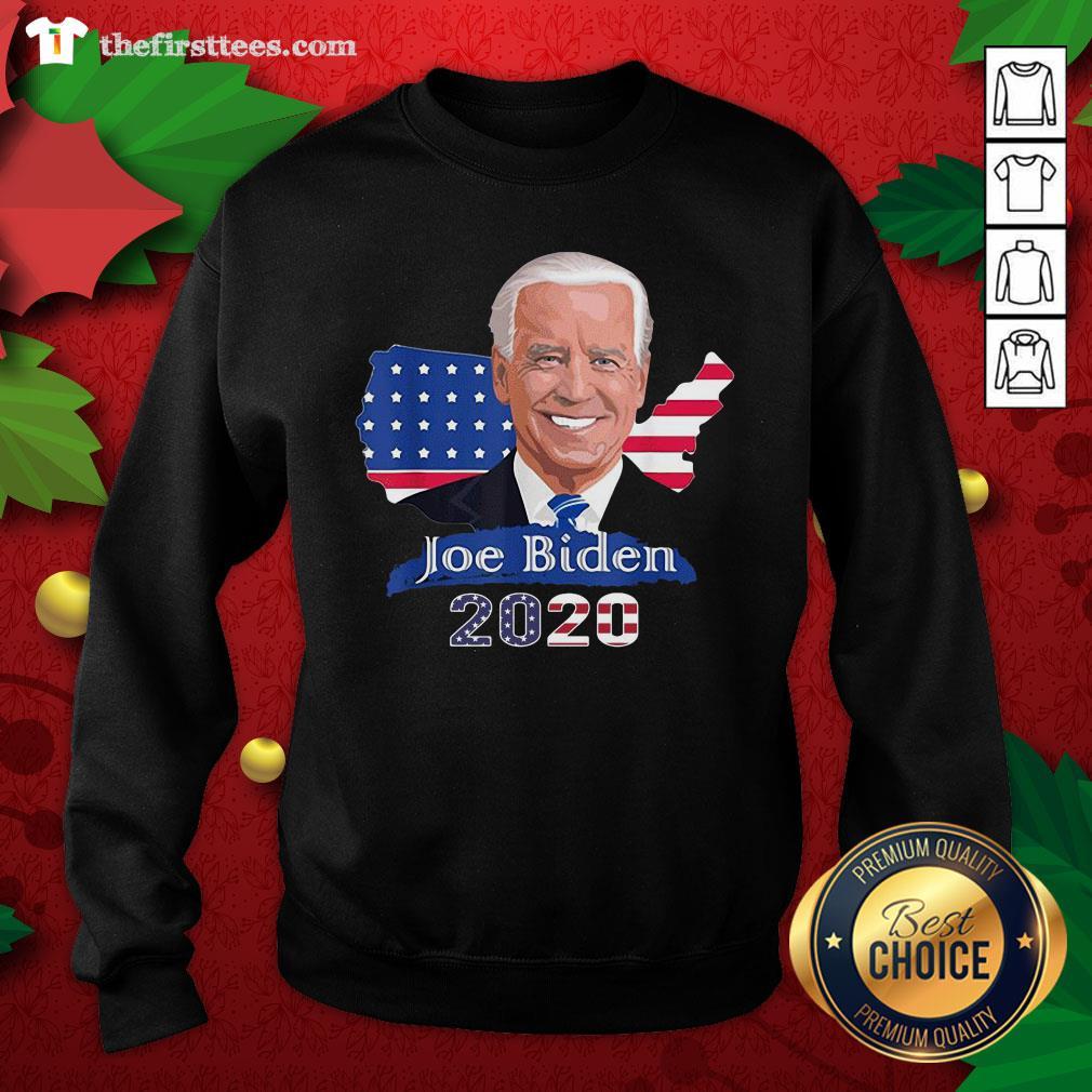 Grateful American Flag Joe Biden President 2020 Sweatshirt - Design By Thefirsttees.com